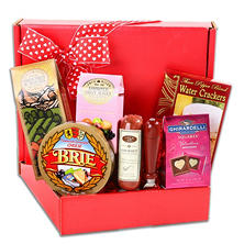 Valentine's Day Gourmet Meat and Cheese Box
