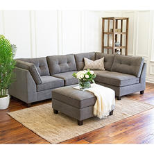 Thompson 5-Piece Modular Fabric Sectional