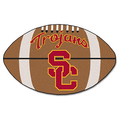 Ncaa University Of Southern California Football Mat