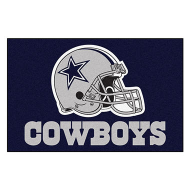 Nfl Dallas Cowboys Starter Mat Sam S Club