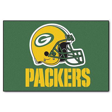 Nfl Green Bay Packers Starter Mat Sam S Club