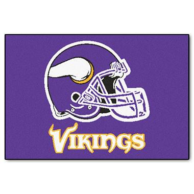 Nfl Minnesota Vikings Starter Mat Sam S Club