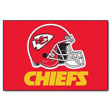 Nfl Kansas City Chiefs Starter Mat Sam S Club