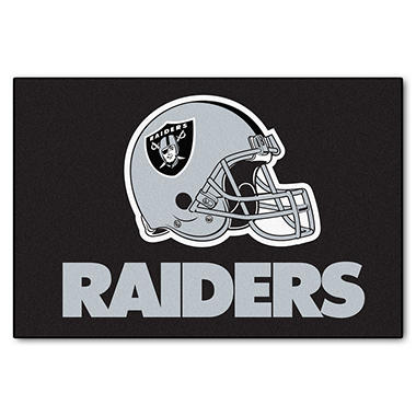 Nfl Oakland Raiders Starter Mat Sam S Club