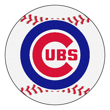 Mlb Chicago Cubs Baseball Mat Sam S Club