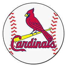 MLB - St. Louis Cardinals Baseball Mat