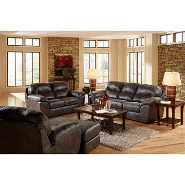 Morris living room 4 piece furniture set sam 39 s club for 4 piece living room set