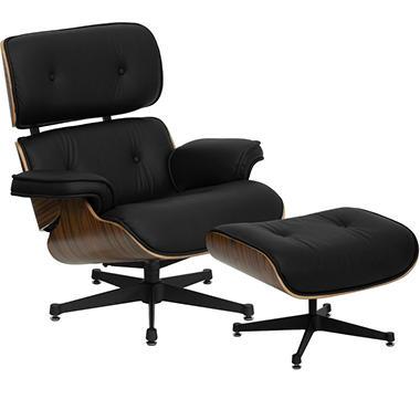 Hercules Presideo Series Top Grain Italian Leather Lounge