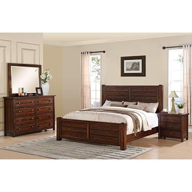 Danner Bedroom Set Choose Size Sam 39 S Club