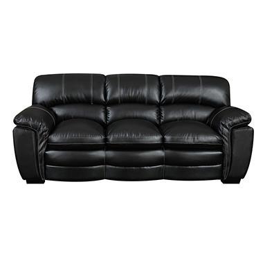 Carter Leather Sofa (Assorted Colors) - Sam's Club