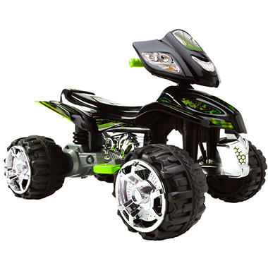 commander quad atv 12 volt battery powered ride on sam 39 s club. Black Bedroom Furniture Sets. Home Design Ideas