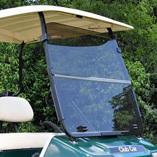 King B Club Car DS Hinged Golf Car Windshield