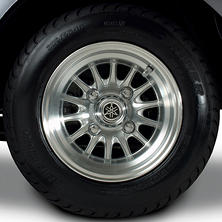 "Yamaha Factory OEM Golf Car 10"" Alloy Tire/Wheel Set (4)"