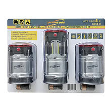 ePower 360 Collapsible Lantern w/ Hazard (3 Pk.)