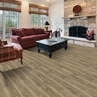 Select Surfaces Click Laminate Flooring Pewter Sam S Club