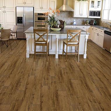 Select Surfaces Luxury Vinyl Plank Flooring (Aspen Oak ...