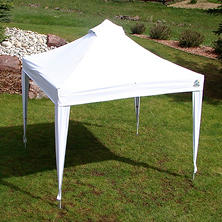 UNDERCOVER 10 x 10 Professional Instant Vending Canopy with Octagonal Aluminum Durability, Wheel-Bag and Spikes