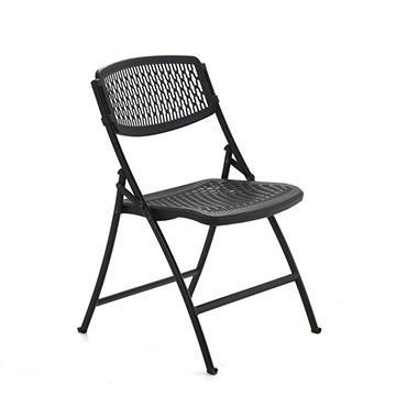 Mity Lite Flex One Folding Chair Black Sam S Club