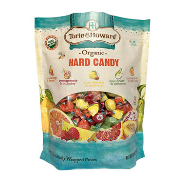 torie howard organic assorted hard candy 24 oz sam 39 s club. Black Bedroom Furniture Sets. Home Design Ideas