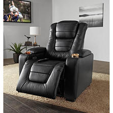 Paxton Power Theater Recliner with Power Adjustable Head Rest