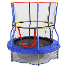 Skywalker Trampolines Bounce-N-Learn Interactive Trampoline with Safety Enclosure