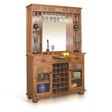 Tuscon Buffet With Back Bar Hutch 2 Piece Set Sam 39 S Club