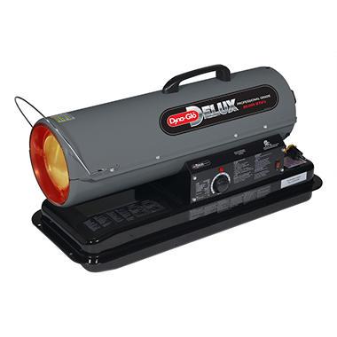 Dyna Glo Delux 80k Btu Kerosene Forced Air Heater Sam S Club