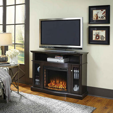 pleasant hearth elliott media fireplace merlot sam 39 s club