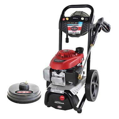 Honda Gcv160 Engine SIMPSON Megashot 3000 PSI 2.4 GPM - Gas Pressure Washer ...