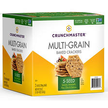 Crunchmaster 5 Seed Multigrain Cracker (10 oz., 2 ct.)