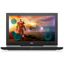 "Dell Gaming Full HD IPS 15.6"" Notebook, Intel Core i7-7700HQ Processor, 16GB Memory, 1TB Hard Drive + 256GB SSD, NVIDIA GeForce GTX 1060 with 6GB GDDR5 Graphics"