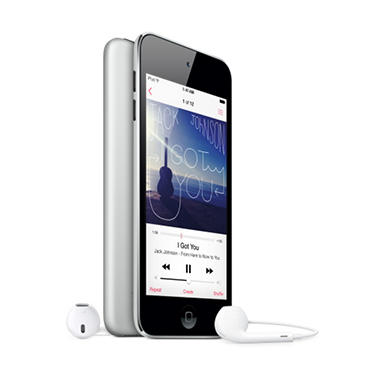 iPod Touch 16GB 5th Generation - Black and Silver - Sam's Club