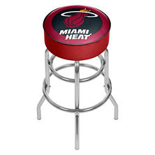 Miami Heat NBA Padded Swivel Bar Stool