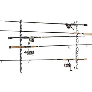 Wire ceiling fishing rod rack sam 39 s club for Fishing wire through ceiling