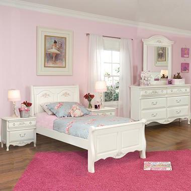 Rhyland Sleigh Bedroom Set Twin 4pc Sam 39 S Club