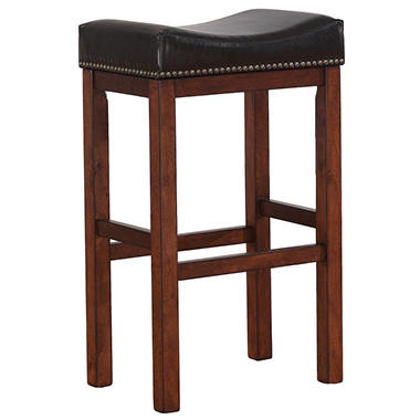 Travis Saddle Seat Bar Stool Sam S Club