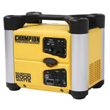 Champion 2 000 Watt 53 Dba Inverter Generator Sam 39 S Club