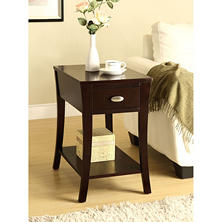 Percy Espresso Side Table