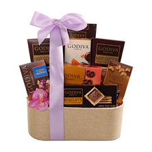 Godiva Timeless Treasures Gift Basket
