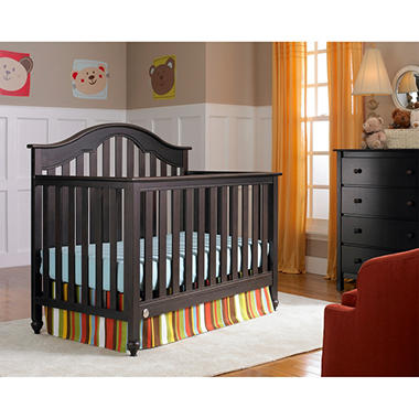 Fisher Price Kingsport 5 In 1 Convertible Crib Espresso