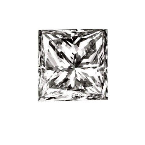 .91 ct. Princess-Cut Loose Diamond (E, VVS2)
