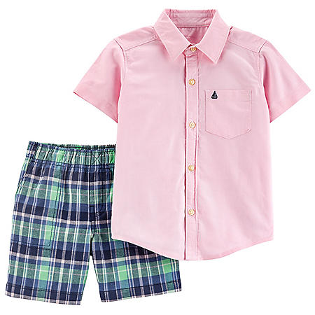 Carters 2-Piece Boy's Playwear Set