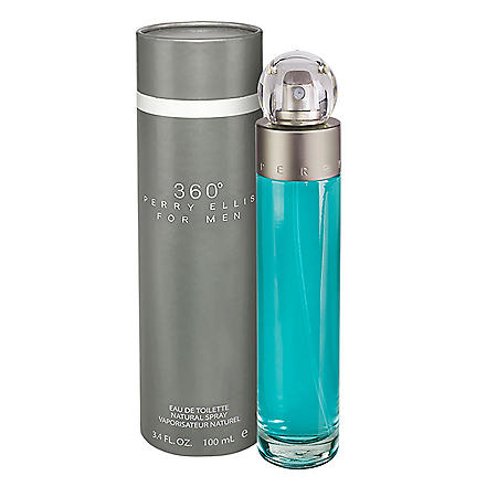 Perry Ellis 360˚ Eau de Toilette Natural Spray for Men - 3.4 fl. oz.