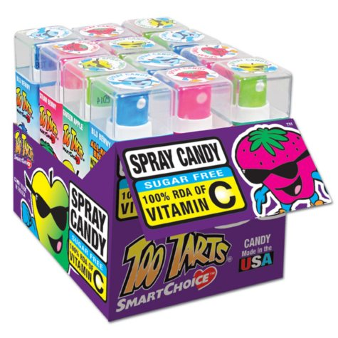 Too Tarts Sour Spray Candy (12 ct.)
