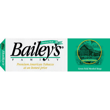 Bailey's Green Field Menthol King Soft Pack 1 Carton