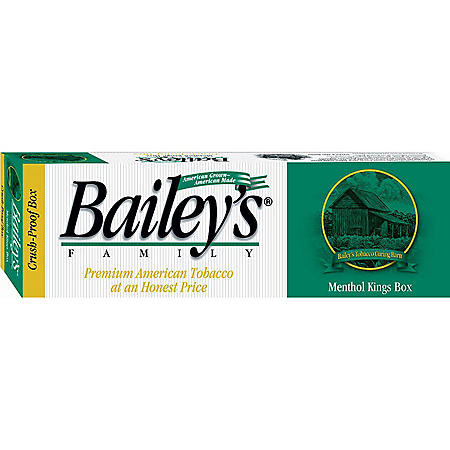 Bailey's Menthol King Box (20 ct., 10 pk.)