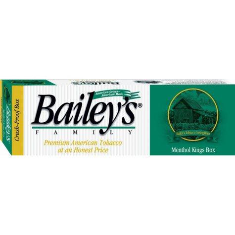Bailey's Menthol King Box 1 Carton