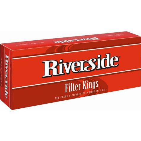 Riverside  Filter Kings  1 Carton