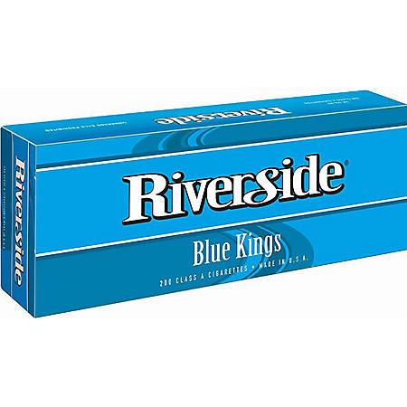 Riverside Blue Kings Soft Pack (20 ct., 10 pk.)