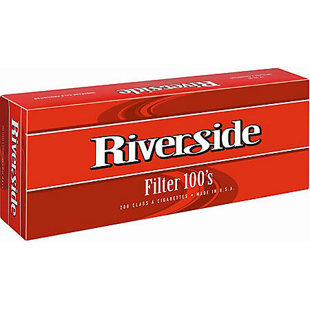 Riverside Full Flavor Filter 100s Soft Pack (20 ct., 10 pk.)